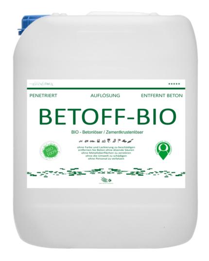Seguro para superficies pintadas Betoff Bio.
